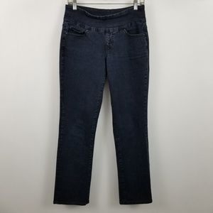 Jag Jeans Pull On High Rise Boot Leg Cut Jeans 4